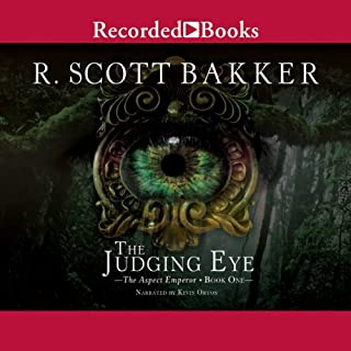 The Judging Eye audiobook cover art