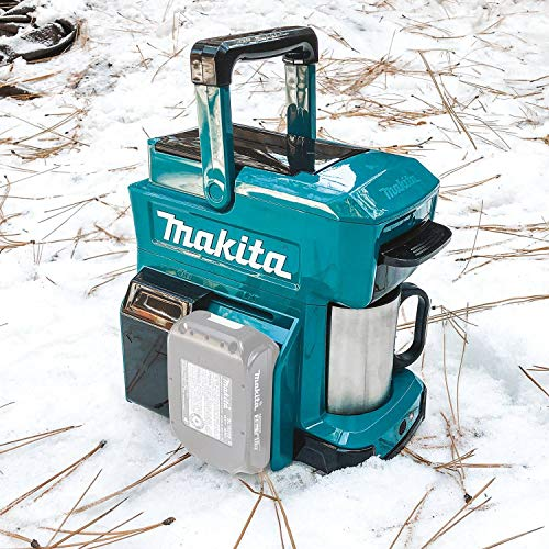 Makita DCM501Z 18V LXT/ 12V max CXTLithium-Ion Cordless Coffee Maker, Tool Only