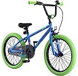 "BIKESTAR Bicicleta Infantil para niños y niñas a Partir de 6 años | Bici 20 Pulgadas con Frenos | 20"" Edición BMX"