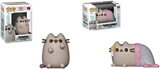 Funko Pop Animation: Pusheen and Pusheen Mermaid Collectible Figure Set of 2 Pops