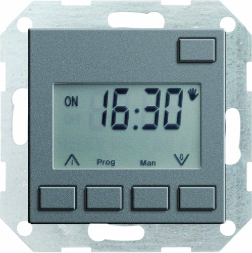 Gira 117528 Zeitschaltuhr Easy System 55, anthrazit