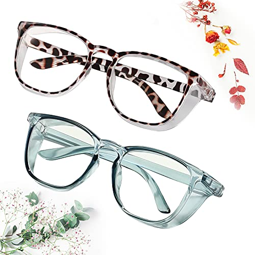 Safety Glasses Goggles for women and men Anti-fog Glasses Protective Eyewear Clear Anti-Scratch/ Anti-Blue Ray
