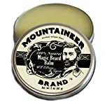 Magic Beard Balm Leave-in Conditioner by Mountaineer Band   Natural Oils, Shea Butter, Beeswax Nourishing Ingredients… 3