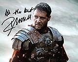 Édition limitée Russell Crowe Gladiator Photo dédicacée par autographe