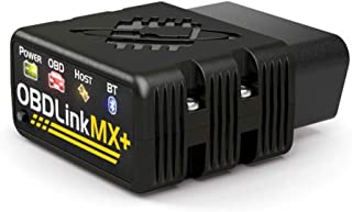 OBDLink MX+ Professional OBD2 Scanner for iPhone, iPad, Android, Kindle Fire or Windows