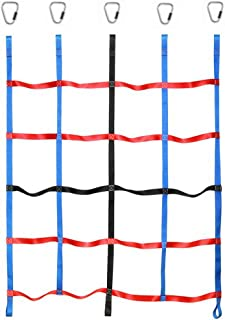 letsgood Climbing Cargo Net, Outdoor Play Sets & Playground Equipment for Ninja Line, Jungle Gyms, Swing Set, Ninja Warrio...