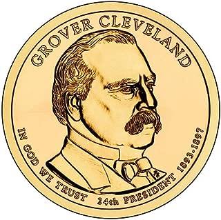 2012 D Position A BU Grover Cleveland Presidential Dollar 2nd Term Choice Uncirculated US Mint