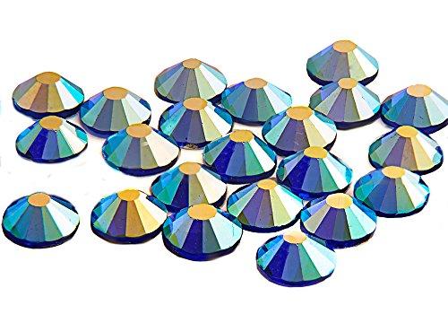 Swarovski alternativa EIMASS® Elements Grado A Hotfix cristales brillantes gemas, 1440unidades trasero cristales