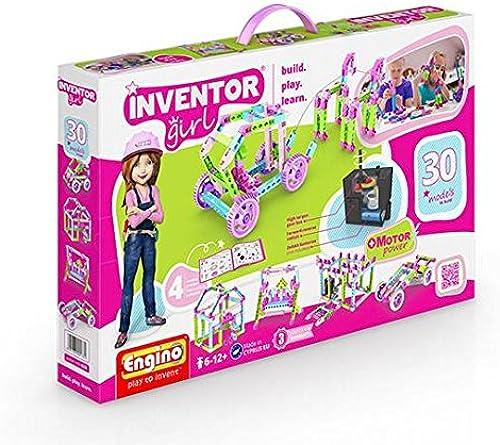ENGINO Kastenaufbau INVENTOR GIRL 30 Modell DRIVEN Aufbau