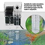 Zyyini-Aquarium-Auenfilter-Verstellbarer-hngender-externer-Sauerstoffpumpen-Wasserfilter-fr-Swassersalzwasser
