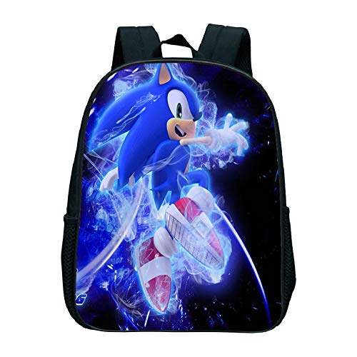 Sonic Rucksack Sonic Bag Mädchen Jungen Schultasche Cartoon Tasche Modeaccessoire Sonic Rucksack Günstige Rucksäcke Kinder Rucksäcke