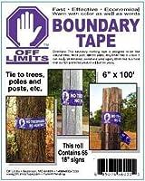 Purple Boundary Tape No Trespassing No Hunting by Off Limits [並行輸入品]