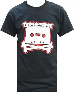 Tee T-Shirt Black Schwarz Logo Mens Herren