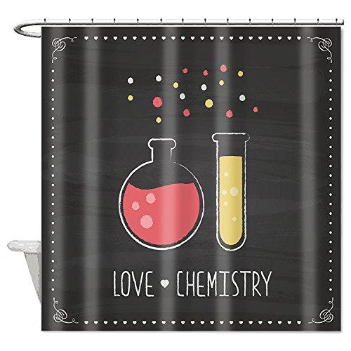 zichuangd chemischen Elemente Love Chemie Wasserdicht Duschvorhang 182,9x 182,9cm