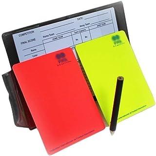 comprar comparacion Kit de árbitro de fútbol A-NAM, con libreta, tarjetas roja y amarilla y hojas de notas