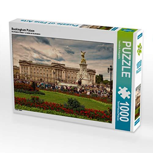 CALVENDO Puzzle Buckingham Palace 1000 Teile Lege-Größe 64 x 48 cm Foto-Puzzle Bild von Stefan Becker