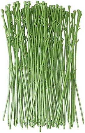 Plastic flower stems