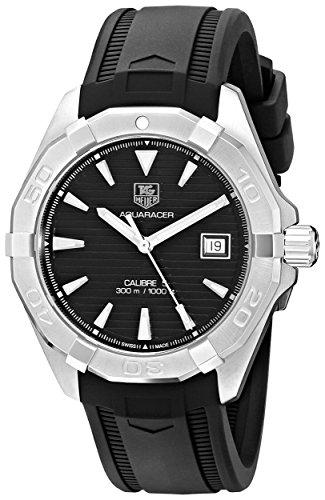 TAG Heuer Men's WAY2110.FT8021 Analog Display Automatic Self Wind Black Watch