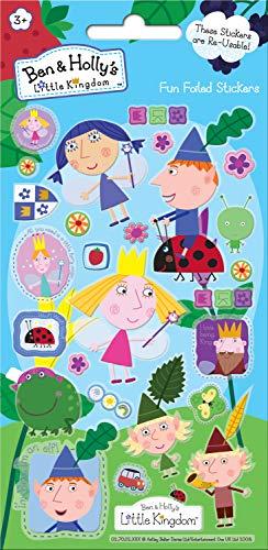 Paper Projects 01.70.06.109 Ben et Holly's Little Kingdom Autocollants métallisés - version anglaise