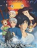 Howl's Moving Castle Calendar 2022: Cartoon calendar, 2022-2023 calendar - 18 month - Howl's Moving Castle OFFICIAL monthly planner. Gifts boys girls kids and all Fans