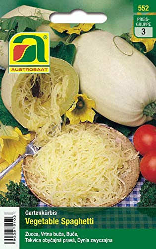 Austrosaat 552 Kürbis Vegetable Spaghetti (Spaghettikürbissamen)