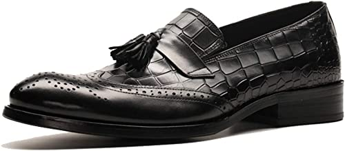 YCGCM Hommes, Chaussures en Cuir, Angleterre, Brock, Glands, Glands, Chaussures Basses, Affaires  marque de luxe