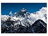 Bild Leinwandbilder Spitze des Mount Everest Designbild