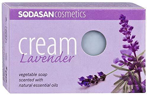 Sodasan Seife Lavendel, 4er Pack (4 x 100 g)
