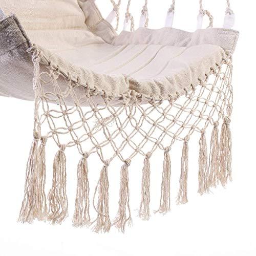 SGSGノルディックスタイルデラックスハンモック屋外屋内庭寮の寝室吊り椅子子供大人スイングシングル安全椅子