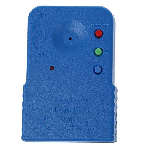 TOOGOO(R)Mini Wireless 8 Multi Voz Cambiador Microfono Disfraz