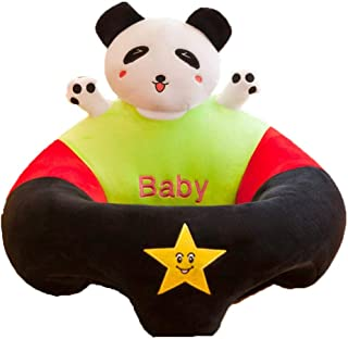 Baby Support Sofa Seat Baby Sitting Chair Infant Soft Support Seat Sofa Toddler Learning Sit Chair Cushion Cartoon Animal Shaped Seat Dining Chair Kids Plush Pillow Toys