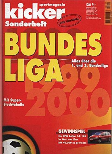 Bundesliga 1999 - 2000, in: KICKER SPORTMAGAZIN, Sonderheft.