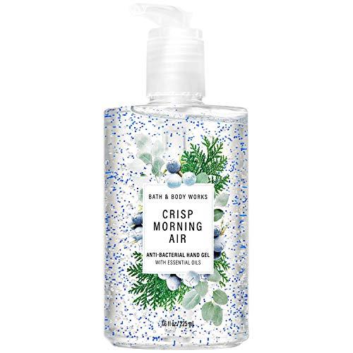 Bath and Body Works CRISP MORNING AIR Hand Sanitizer 7.6 Fluid Ounce (2020 Edition)