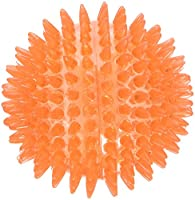 BRIGHT Spikey rubber ball for catch and play fun. GREAT for throw and retrieve games and interactive play. GREAT VALUE and fun for a Happy Pet and Owner! PERFECT for play-time! ADDITION to the ever popular and ever growing Rosewood Jolly Doggy range ...
