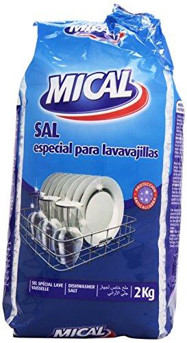 Mical - Sal - especial para lavavajillas - 2 kg