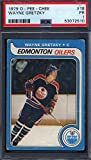 1979 OPC O-Pee-Chee #18 Wayne Gretzky Rookie HOF Oilers PSA 1 - Unsigned Hockey Cards. rookie card picture
