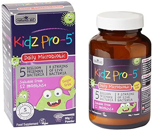 Bio360 Kidz Pro-5 (5 Billion Bacteria) from Natures Aid Children's...