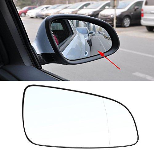 Ymiko Espejo retrovisor de Coche, Puerta Derecha, Espejo Lateral, Vidrio de Repuesto para el Lado del Pasajero, para Opel Astra 2004-2016 6428785