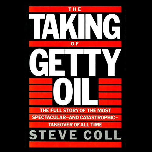 The Taking of Getty Oil audiobook cover art