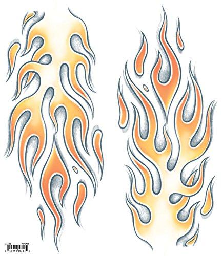 Tinsley Transfers Flames Tattoo Kit