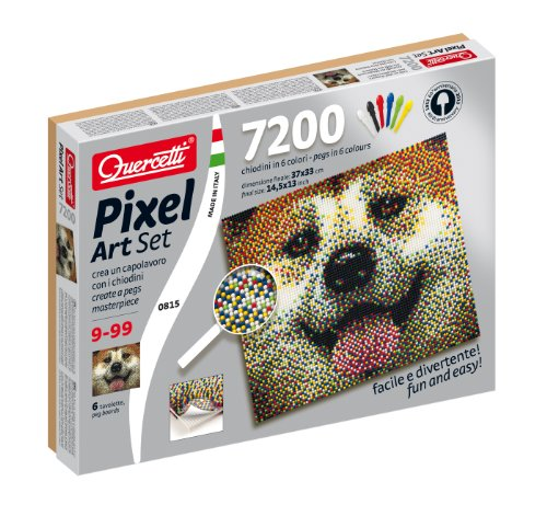 Quercetti Dog Pixel Art Set