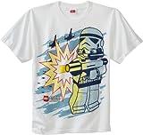 LEGO Star Wars Boys 8-20 Rebel Forces T-Shirt, White, X-Large