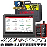 LAUNCH X431 V PRO 4.0 (2021 Upgrade Ver.) Bi-Directional Scan Tool Full System Scanner,Key Program,31+Service,Variant Coding, Active Test,AutoAuth for FCA SGW,Full Connector Kits,2 yrs Free Update