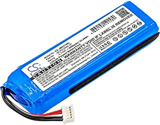 Replacement Battery for JBL Charge 2 Plus, Charge 2+ Part Number GSP1029102 MLP912995-2P
