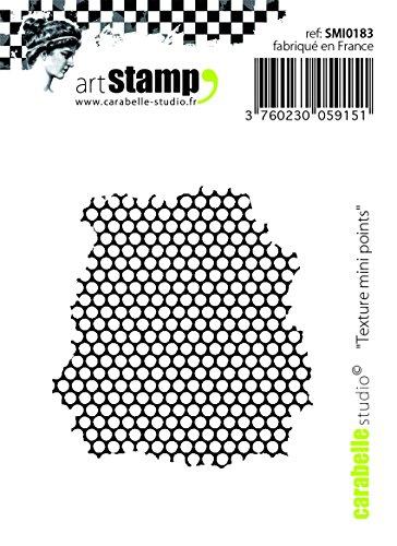 Carabelle Studio Texture Small Points Cling Sello Mini, Caucho, 5.0x6.0x0.5 cm