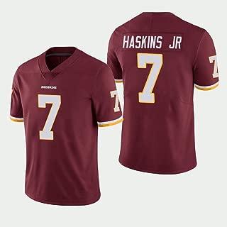 VF LSG Washington Redskins #7 Dwayne Haskins JR Red Limited Embroidery Jersey for Men Women Youth