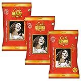 Cafe DESIRE I DRINK SUCCESS Instant Cardamom Red Range Tea Premix (3 kg) | Pack of 3 x 1 Kg | Makes...