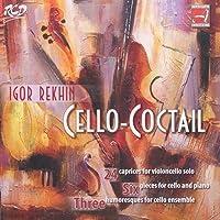 Cello Coctail-cello Works: Zagorinsky(Vc) Shmitov(P) Cello Ensemble Of Bolshoi Theatre