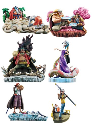 Megahouse One Piece: Log Box Marineford Vol. 2 Trading Figures (Display of 6)