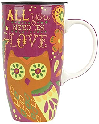 Large All You Need Is Love Porcelain Tumbler